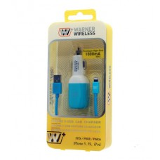 iPhone 5/5s lighning cable w/ car charger