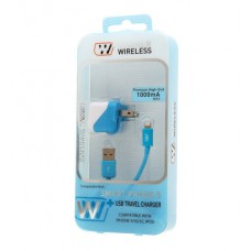 iPhone 5/5s lighning cable w/ home charger
