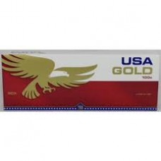 USA GOLD RED 100'S BOX