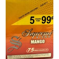 SUPREME CIG. MANGO/ 15-5pk-99c (15)