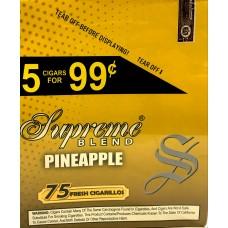 SUPREME CIG. PINEAPPLE/ 15-5pk-99c (15)