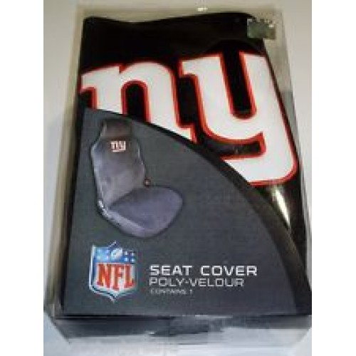 NFL CAR SEAT COVER POLY VELOUR 1