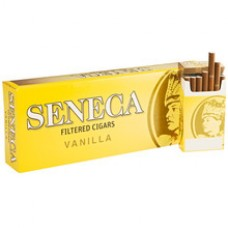 SENECA FILTERED CIGARS VANILLA (YELLOW)