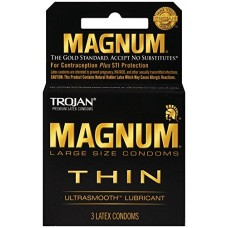 Trojan Magnum Thin Lubricated 6/3