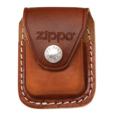 ZIPPO LEATHER POUCH BROWN LPCB