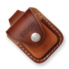ZIPPO LEATHER POUCH BROWN $9.95