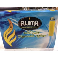 FUJIMA SOLID COLOR DISPOSABLE LIGHTERS / 50ct