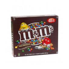 M&M MILK CHOCOLATE 1.69oz / 48ct
