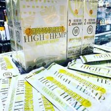 HIGH HEMP ORGANIC WRAPS / 25-2pk Banana Goo