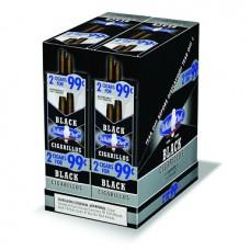 WHITE OWL BLACK Cigarillos 2pk/30-99c #1606