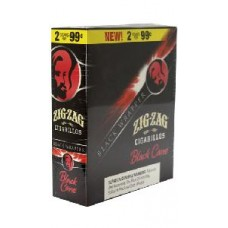 ZIG ZAG CIGARILLOS BLACK CANE/15-2 for 99c