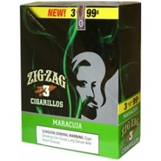 ZIG ZAG Cigarillos Maracuja/ 15-3 for 99c (24)