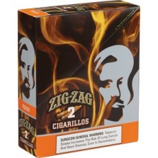 ZIG-ZAG Cigarillos Peach/15-3 for 99c (24)