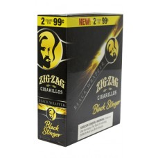 ZIG ZAG CIGARILLOS BLACK STINGER/15-2 for 99c