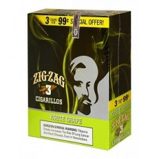 ZIG-ZAG Cigarillos White Grape/15-3 for 99c (24)